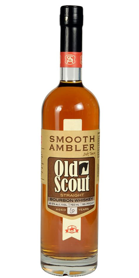 smooth ambler old scout bourbon smooth ambler old scout straight bourbon whiskey