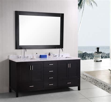 dark bathroom vanity dark vanity in small bathroom decosee com