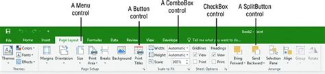 layout ribbon excel working with the ribbon developing excel applications