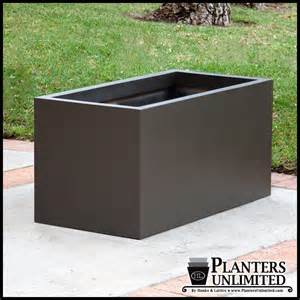 large outdoor planters rectangular planters