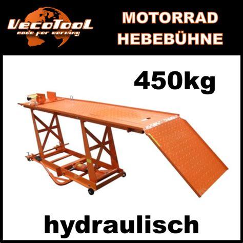 Motorradhebeb Hne L by Motorradhebeb 220 Hne Hydraulisch 450 Kg Motorrad