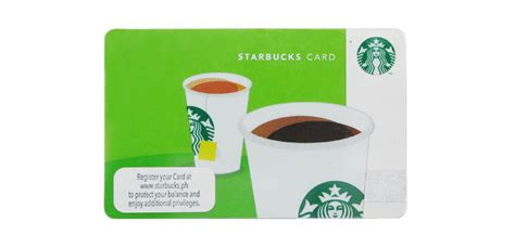 starbucks card what you need to about the starbucks card cosmo ph