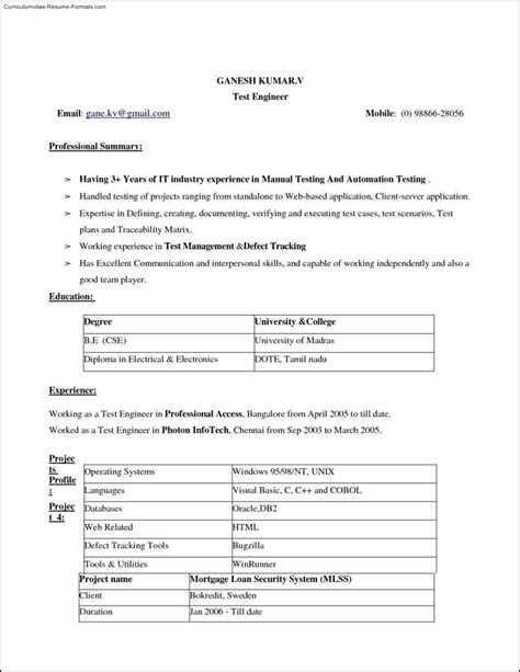 instant resume templates instant resume template free sles exles format