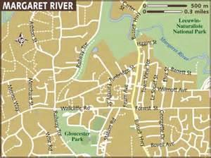 Car Rental Perth To Margaret River Map Of Margaret River