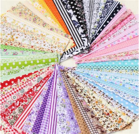 Patchwork Fabric Packs - aliexpress buy free shipping 50pieces 10cmx10cm