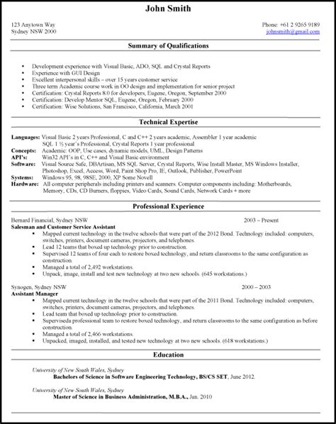 types of resumes tomu co