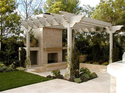 outdoor rooms with sunken and raised areas add depth to landscaping ideas