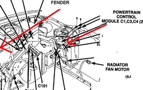 dodge neon engine diagram 2003 dodge neon ecm location solved fixya