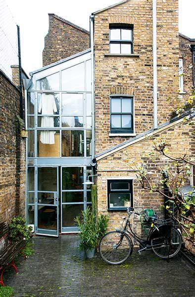 glazed rear extension   victorian terraced home