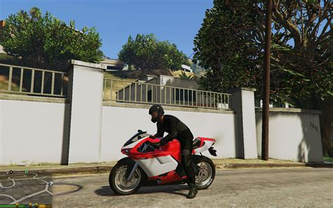 Motorrad Outfit by Black Modern Motorcycle Outfit For Franklin Gta5 Mods