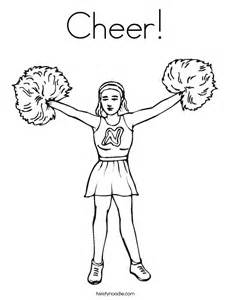 cheerleading coloring pages cheerleading coloring pages for az coloring pages