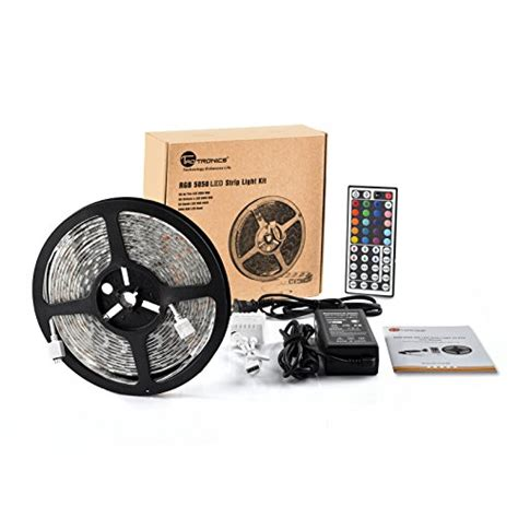 taotronics 174 tt sl007 waterproof rgb led strip light kit