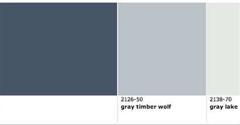 newburyport blue gray timber wolf and gray lake by benjamin paint colors