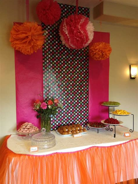 Cheap Pink For Baby Shower by 25 Best Ideas About Plastic Tablecloth Backdrop On