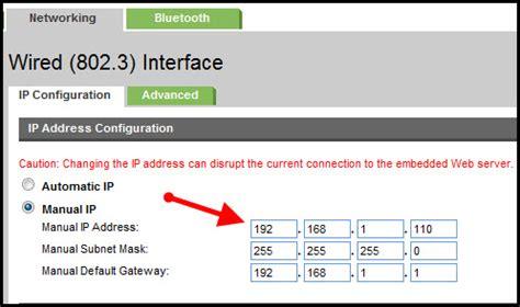 hp officejet 7000 reset ip address hp p1102w set static ip