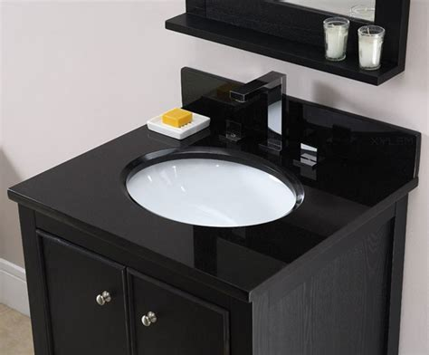 bathroom vanity black marble top black granite 49 inch bathroom vanity top