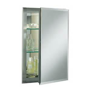 lowes recessed medicine cabinets kohler cb clr1620fs mirrored medicine cabinet lowe s canada