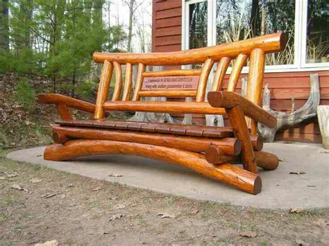 rustic log benches outdoor 25 best ideas about log benches on pinterest rustic