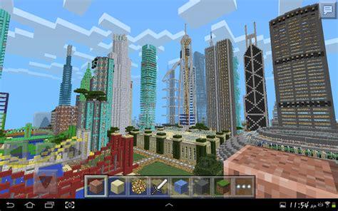 mcpe city maps minecraft pe city the city in pocket