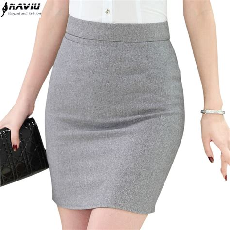 Basic Pencil Skirt Rok Pensil Wanita Best Seller 1 office formal slim slim hip skirt brief tailored skirt for simple all match plus