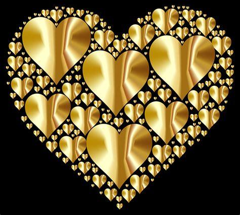 imagenes de corazones metalicos vector gratis coraz 243 n corazones 3 el amor imagen