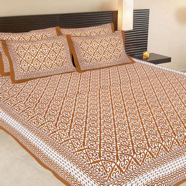 best fabric for bed sheets summer cotton bedsheets buy jaipuri 8 cotton double bed sheets with 16 pillow