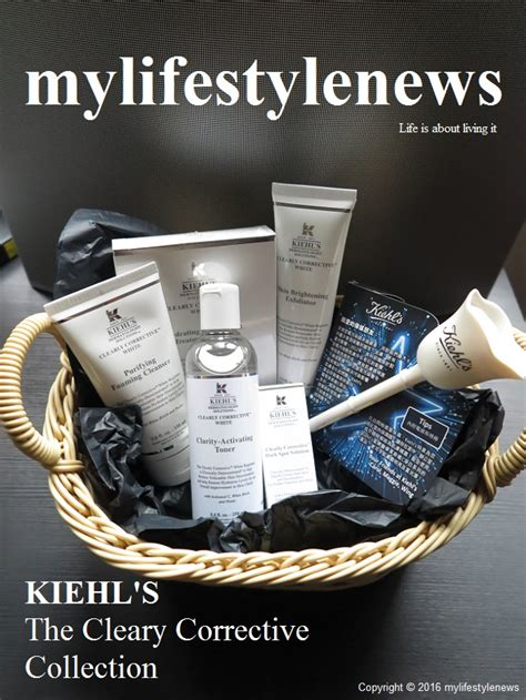 Diskon Kiehls Clear Corrective White Clarity Activating Toner mylifestylenews kiehl s the cleary corrective collection