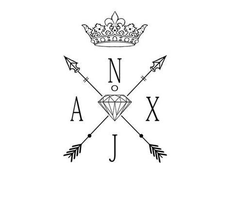 tattoo cross arrows tattoo inspiration crossed arrows and diamond tattoo
