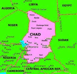 Chad Africa Map by Africanchad Home