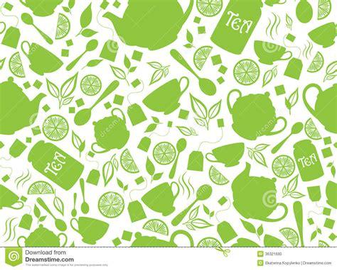 tea leaf pattern vector green tea seamless pattern stock photo image 36321690