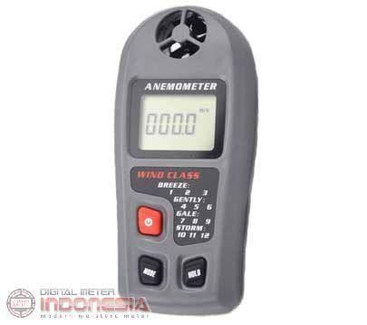 Digital Anemometer Ukur Kecepatan Angin Thermometer Anemo Meter alat uji kecepatan angin anemometer amf030