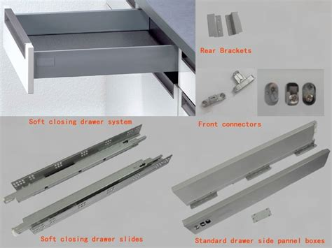 kitchen cabinet drawer parts drawers kitchen slide drawers