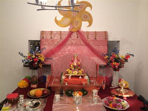 decoration for ganesh festival at home 17 best images about ganpati bappa decoration at home on