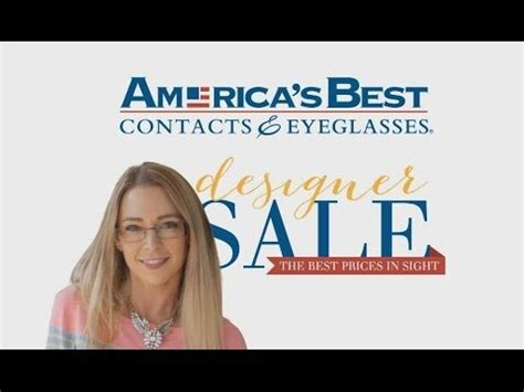 girl on americas best commercial america s best sale on designer glasses youtube