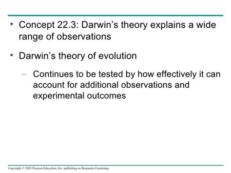 theories of evolution section 15 2 review chapter22
