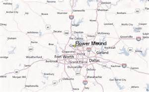 where is flower mound on the map flower mound weather station record historical weather
