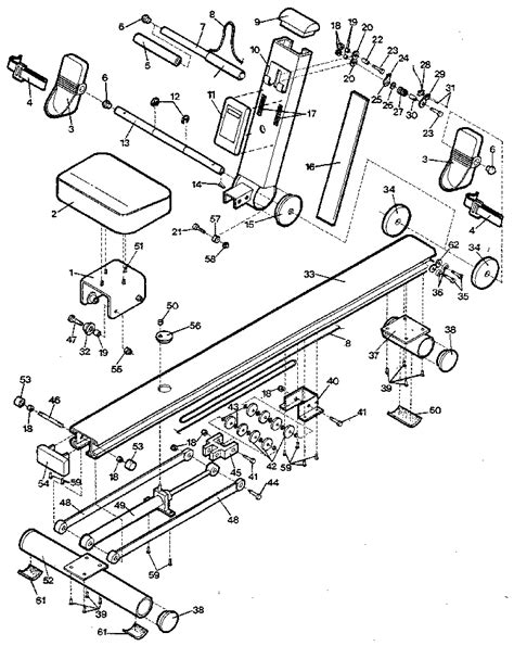 rowing machine diagram machine parts diagram 28 images sewing machine parts