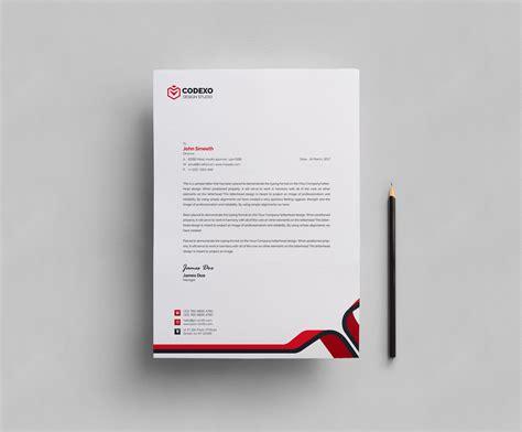stationery design templates plain letterhead design template 000407 template catalog