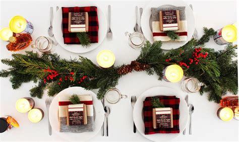 20 diy christmas table decor