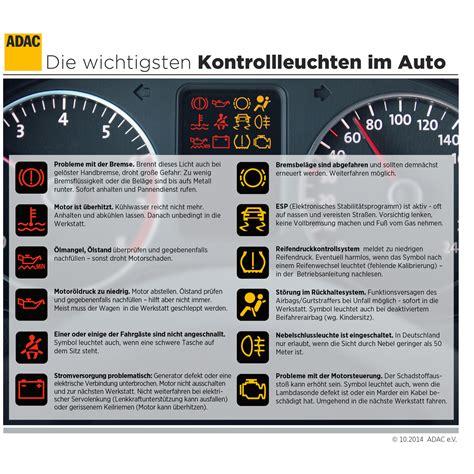 Kontrollleuchten Auto Diesel by Rote Kontrollleuchten Sollten Autofahrer Ernst Nehmen