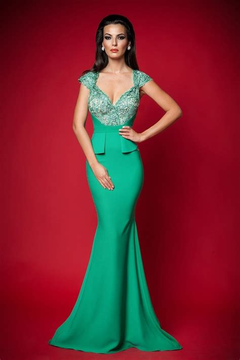 Valentines Day Quotes gorgeous green long formal dress pictures photos and