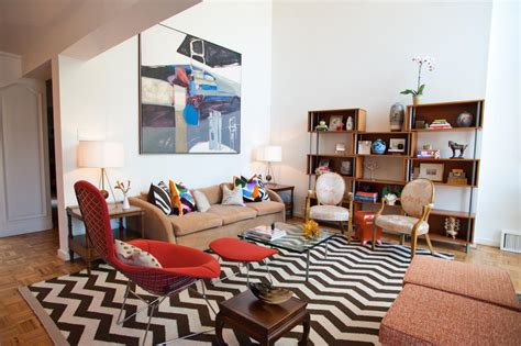 Chevron Rug Living Room by Photo Page Hgtv