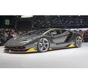 2016 Geneva Motor Show Lamborghini Centenario  &187 AutoNXT