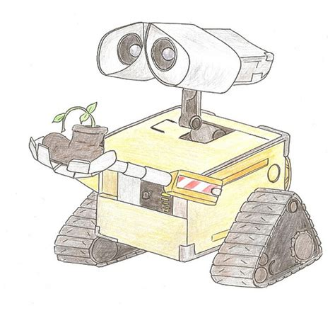 Wall E Sketches by My 2nd Wall E Sketch A Photo On Flickriver