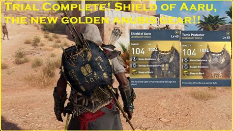 Origins Set Trial assassin s creed 174 origins trial complete the shield of