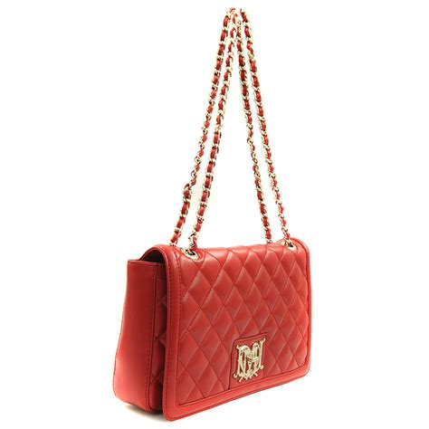 Moschino Bag moschino quilted flap cover bag in lyst