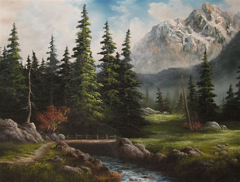 bob ross paintings for sale uk kevin hill gallery paints in bob ross style with big