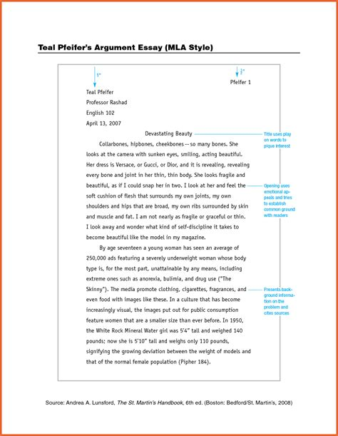 example of an essay in mla format cover letter essay mla format