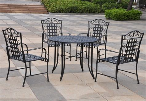 wrought iron patio furniture set 13 awesome wrought iron furniture products