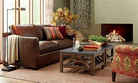 davis leather sofa from crate and barrell well reviewed